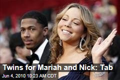 Twins for Mariah and Nick: Tab