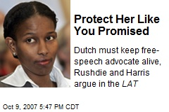 Protect Her Like You Promised