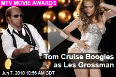 Tom Cruise Boogies as Les Grossman