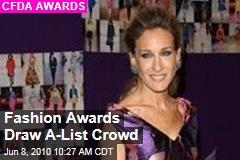 Fashion Awards Draw A-List Crowd