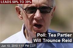 Poll: Tea Partier Will Trounce Reid