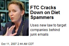 FTC Cracks Down on Diet Spammers