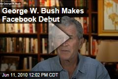 George W. Bush Makes Facebook Debut