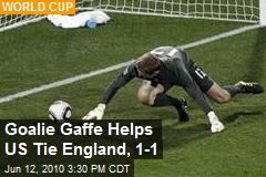 US, England Tie 1-1