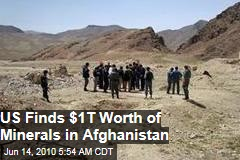 Vast New Mineral Deposits Found In Afghanistan
