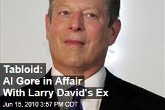 Tabloid: Al Gore in Affair With Larry David's Ex