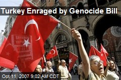 Turkey Enraged by Genocide Bill