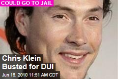 Chris Klein Busted for DUI