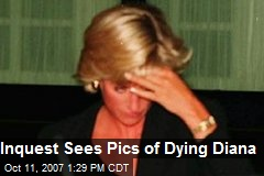 Inquest Sees Pics of Dying Diana