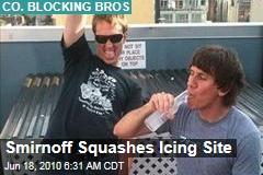Smirnoff Squashes Icing Site