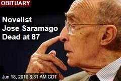 Nobel-Winning Jose Saramago Dead at 87