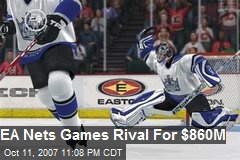EA Nets Games Rival For $860M