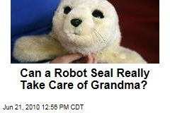 Can a Robot Seal Really Take Care of Grandma?