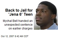 Back to Jail for 'Jena 6' Teen