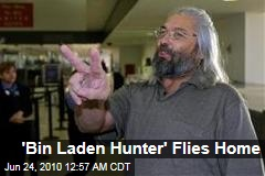 'Bin Laden Hunter' Flies Home