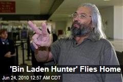 'Bin Laden Hunter' Flies Home