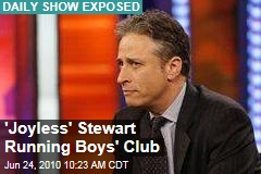'Joyless' Stewart Running Boys' Club