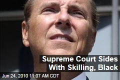 Supreme Court Sides With Skilling, Black