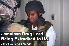 Jamaican Drug Lord Being Extradited to US