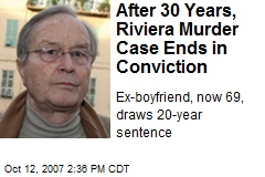 After 30 Years, Riviera Murder Case Ends in Conviction