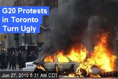 G20 Protests in Toronto Turn Ugly