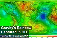 Gravity's Rainbow Captured in HD