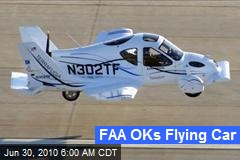 FAA OKs Flying Car
