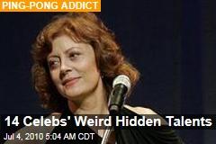 14 Celebs' Weird Hidden Talents