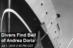 Divers Find Bell of Andrea Doria