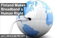 Finland Makes Broadband a Human Right