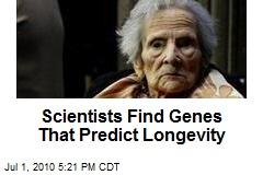 Scientists Find Genes That Predict Longevity