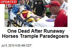 Runaway Horses Trample Paradegoers