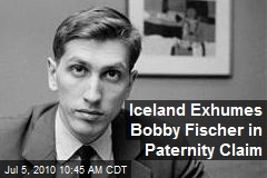 Iceland Exhumes Bobby Fischer in Paternity Claim