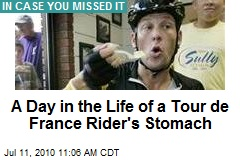 A Day in the Life of a Tour de France Rider's Stomach