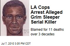 LA Cops Arrest Alleged Grim Sleeper Serial Killer