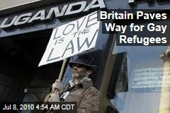 Britain Paves Way for Gay Refugees