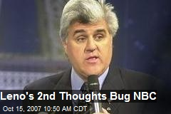 Leno's 2nd Thoughts Bug NBC