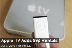 Apple TV Adds 99¢ Rentals