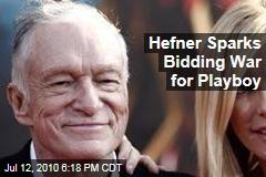 Hefner Sparks Bidding War for Playboy