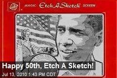Happy 50th, Etch A Sketch!