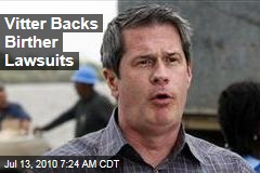 Vitter Backs Birther Lawsuits