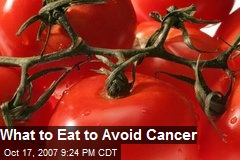 What to Eat to Avoid Cancer