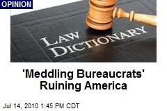 'Meddling Bureaucrats' Ruining America