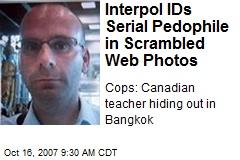 Interpol IDs Serial Pedophile in Scrambled Web Photos