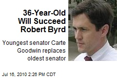 36-Year-Old Will Succeed Robert Byrd