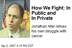 How We Fight: In Public and In Private