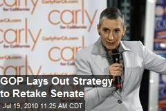 GOP lays out strategy to retake Senate
