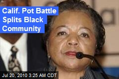 Calif. Pot Battle Splits Black Community