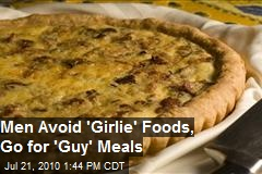 Study: Men Avoid 'Girlie' Foods