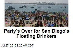 Party's Over for San Diego's Floating Drinkers